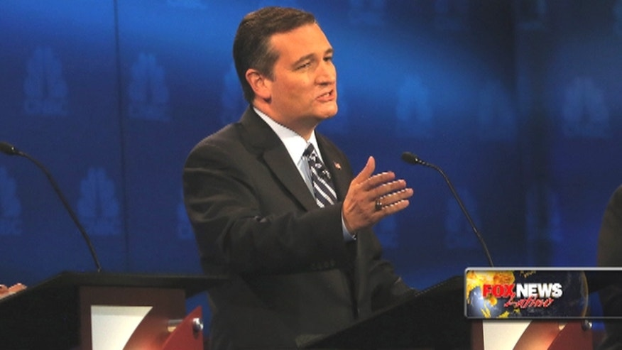Ted Cruz is trying to ride a standout performance in last week's GOP debate into new momentum for his campaign.