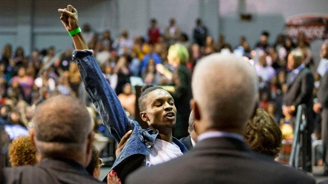 Black Lives Matter disrupting public events