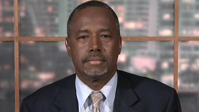 Ben Carson speaks out about overcoming violent past