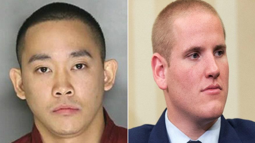 Arrest made in stabbing of train hero