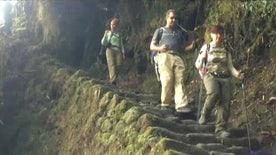 Jon Scott completes trek to legendary Incan citadel