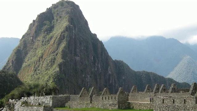 Jon Scott on the Inca Trail to Machu Picchu