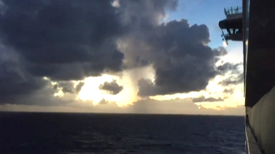 Raw video: Search for 35-year-old man who went missing from Royal Caribbean ship near Bahamas
