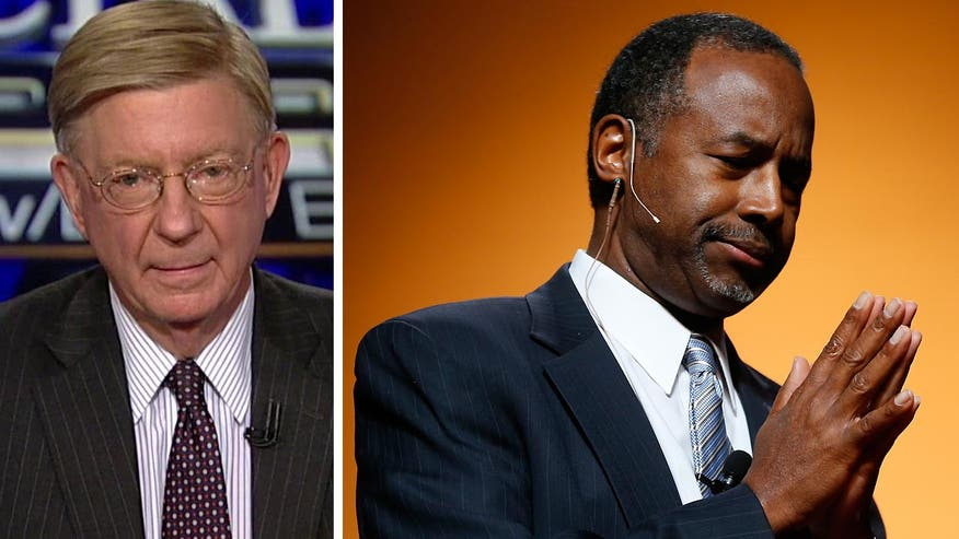 "George Will: ""When your biography is your campaign... you better get it right"""