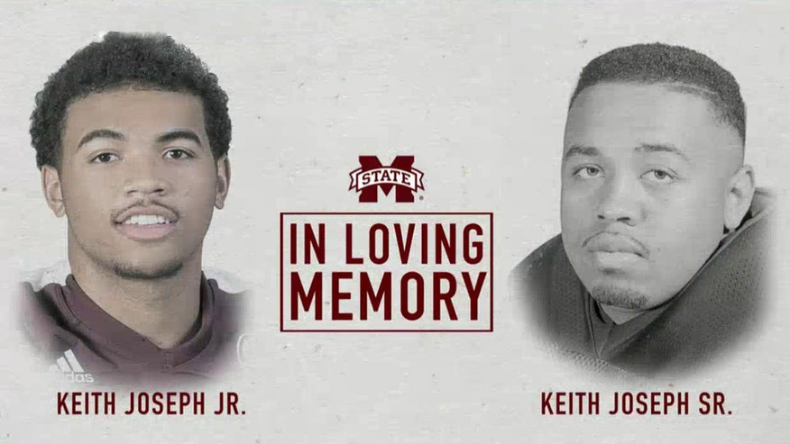 Keith Joseph Jr and his father were killed on the way to a football game at his high school
