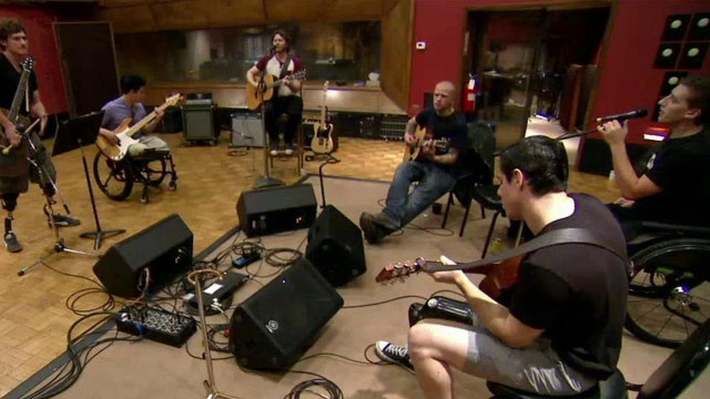 Helping wounded warriors heal through the sound of music