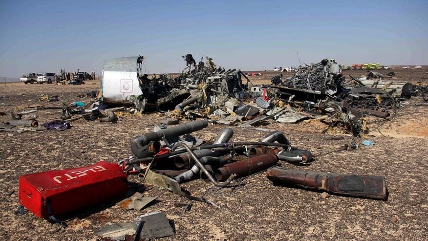 Russian and Egypt push back against theories that a terror attack brought down the Metrojet plane