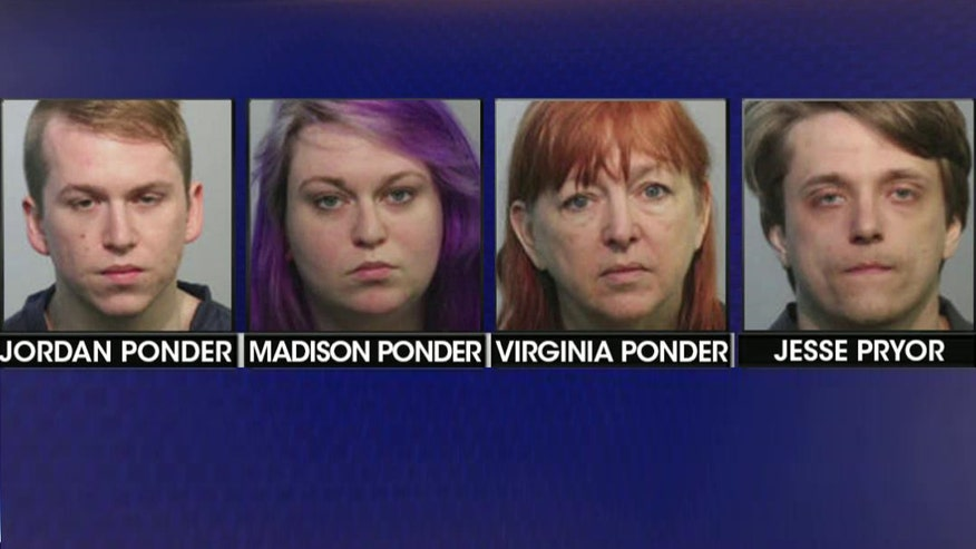 The four face drug, child endangerment charges