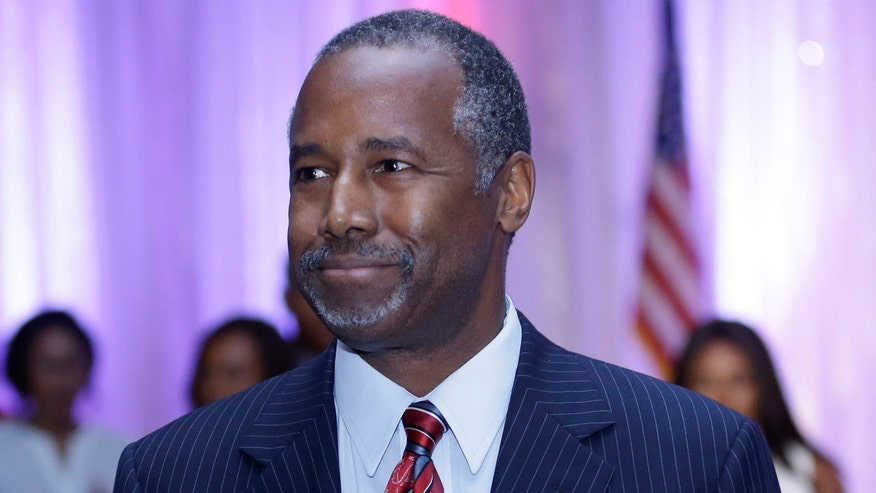 Ben Carson criticizes press for questioning claims in his biography