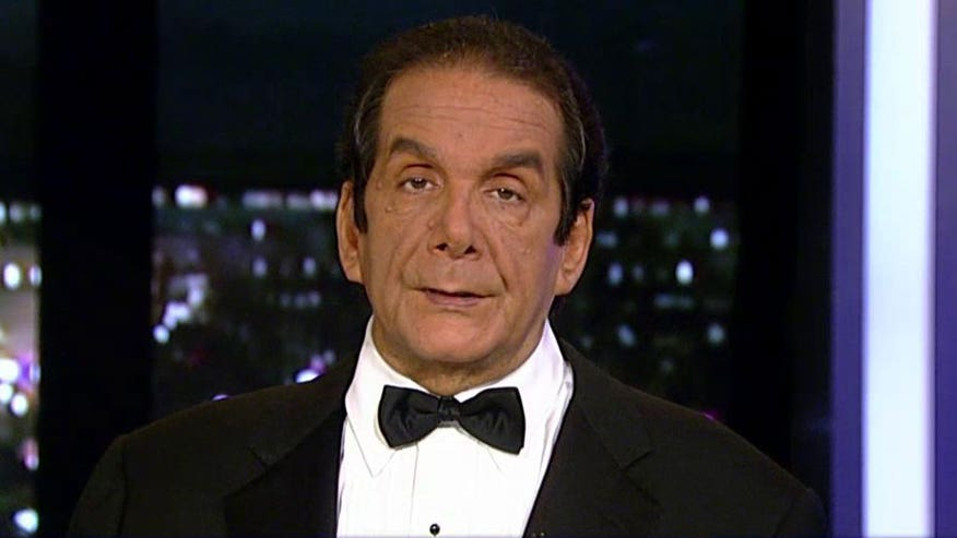 "Charles Krauthammer told viewers Monday on ""Special Report with Bret Baier"" that Tuesday's Fox Business Network debate is ""about one thing; Jeb Bush."""