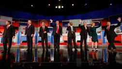 The GOP debate was Tuesday night but even before it was over some predictable liberal media types complaining about it.