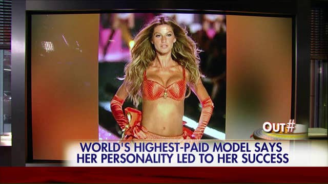 Gisele Bundchen talks fame and fortune