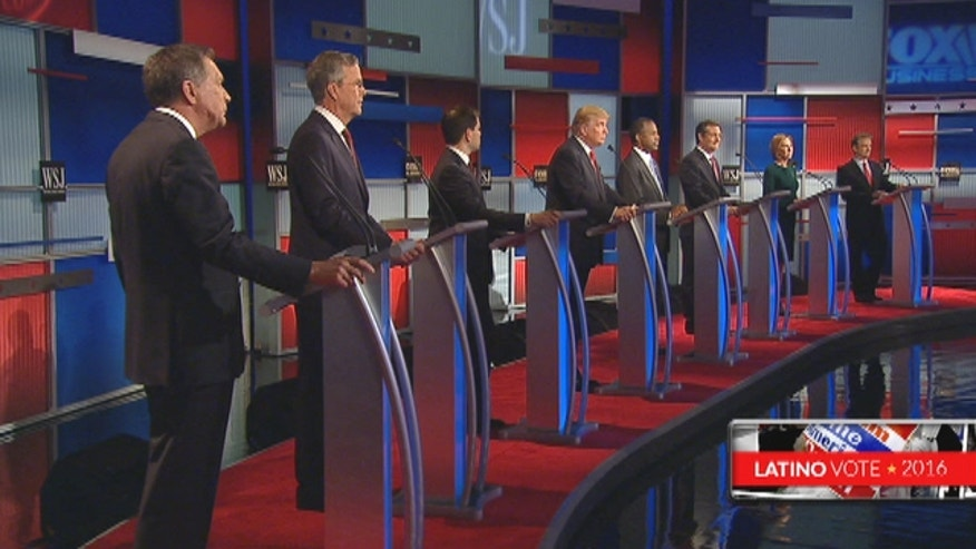 Candidates got into a heated discussion over what to do with the country's estimated 12 million undocumented immigrants.
