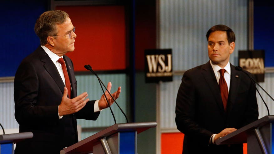 Sparks fly at presidential debate