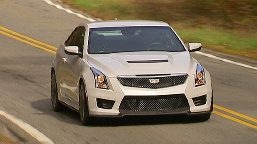 Gary Gastelu says the high-performance 2016 Cadillac ATS-V coupe is money. A lot of it.