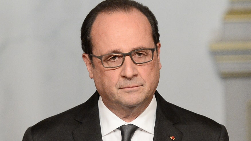 French leader delivers address after declaring state of emergency