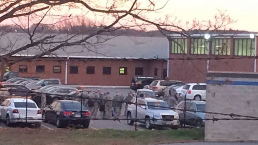 16 guns have been stolen from Massachusetts Army Reserve building