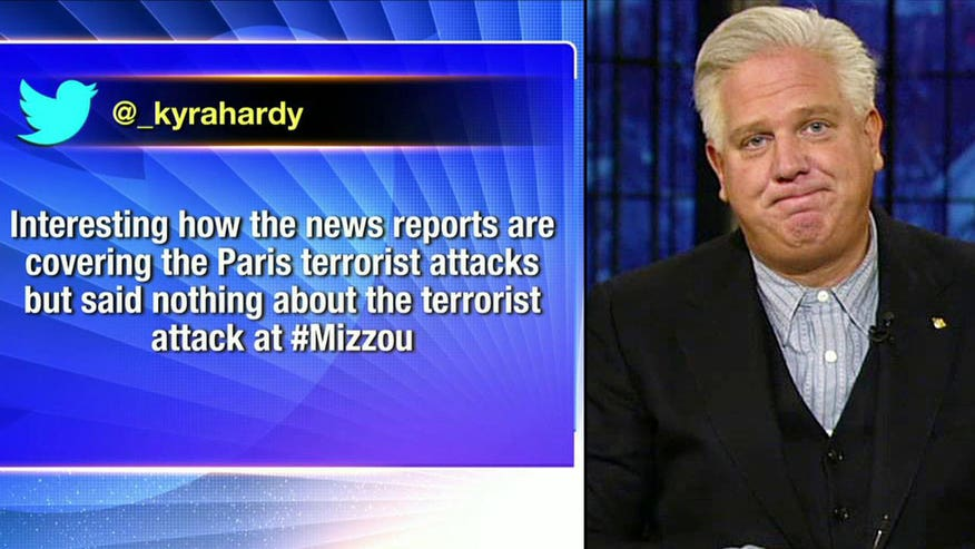 Supporters of University of Missouri protests are upset over media attention for Paris; Radio show host sounds off on 'The Kelly File'