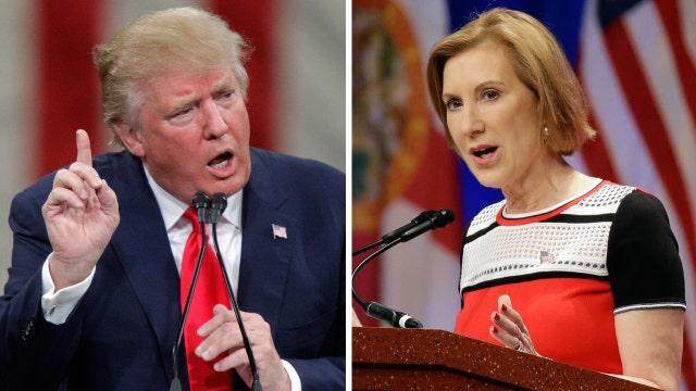 Your Buzz: Trump vs. Fiorina, again