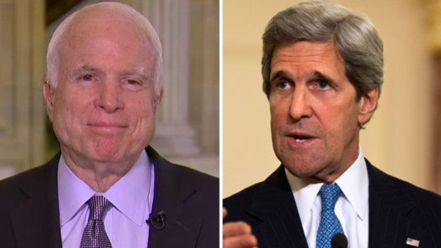 McCain: Kerry has been the 'most inept' Secretary of State