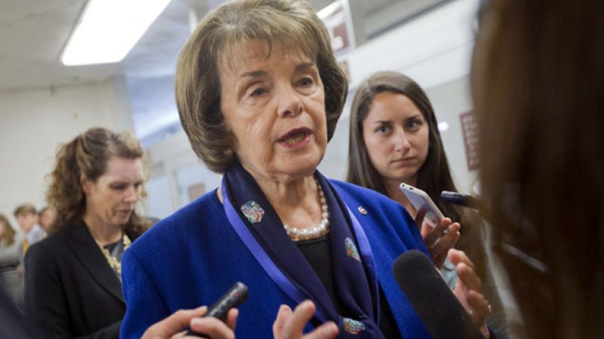 Sen. Feinstein joins growing split over president's assessment of threat