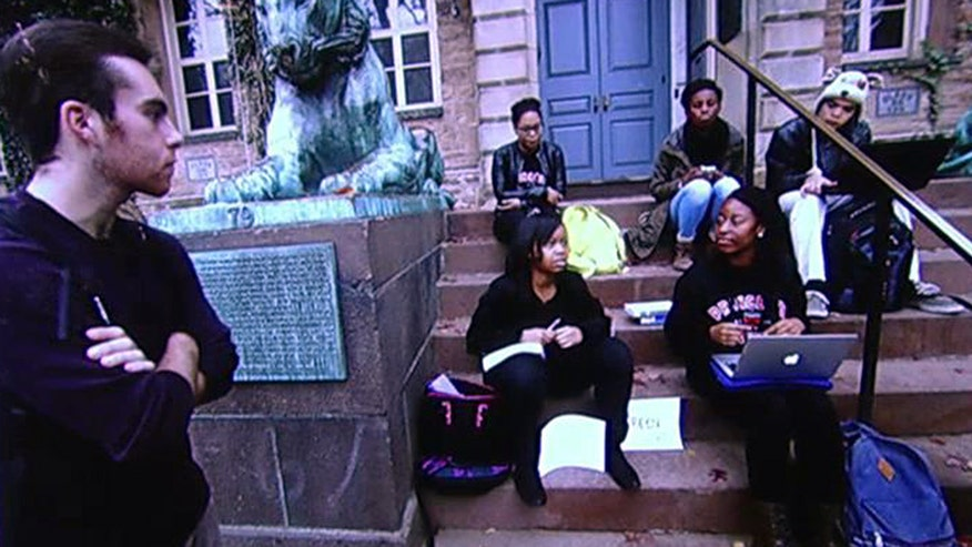 Princeton students take over president's office, demanding racial justice; Reaction on 'Outnumbered'