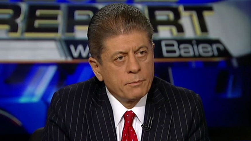 Judge Napolitano says the 'Law is on the President's side, Politics are not'