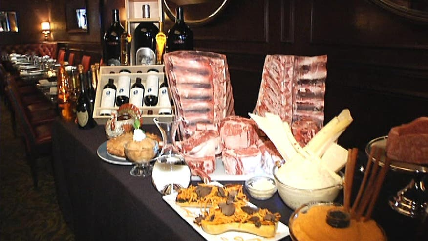 Fox News Lifestyle:  Check out this elaborate, once in a lifetime feast at Old Homestead Steakhouse in New York City