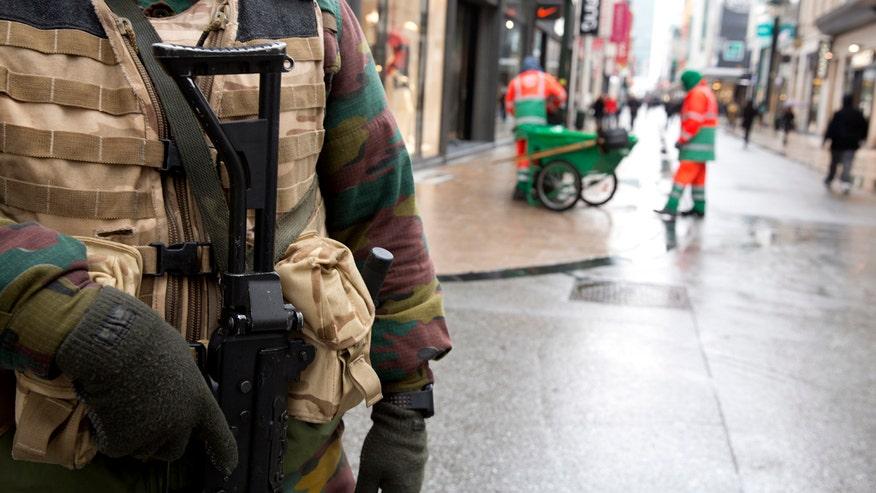 Manhunt underway as Belgium raises terror alert to 'imminent'