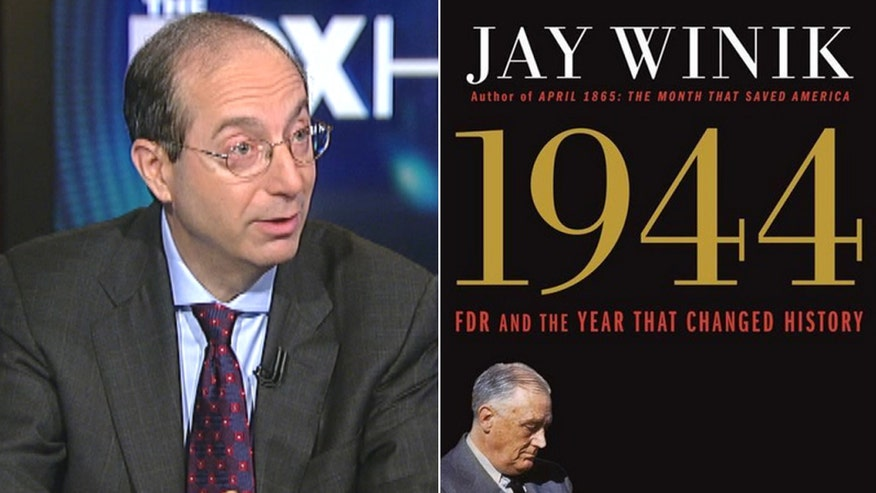 "Fox News Chief Washington correspondent James Rosen talks with historian Jay Winik about his new book, ""1944: FDR and the Year That Changed History."""