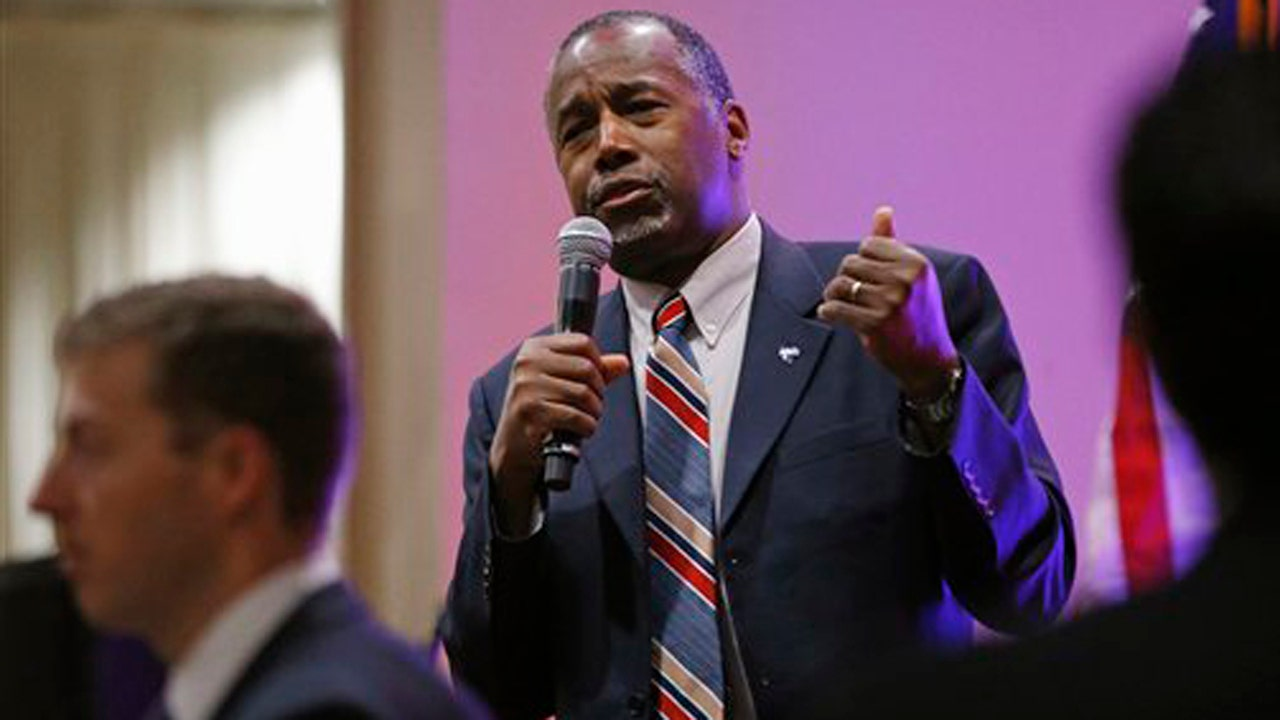 Carson says Syrian refugees don't want to come to US