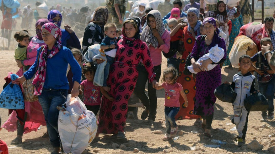 Congressman sounds off about the Syrian refugee screening bill