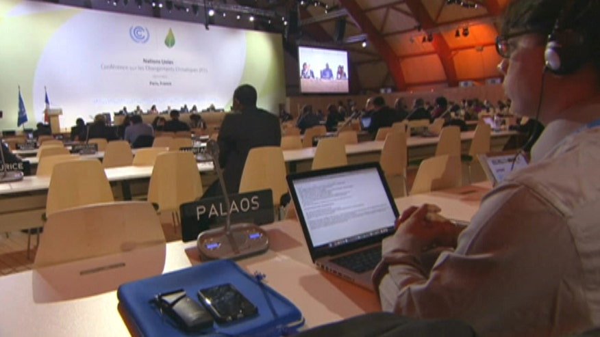 The United Nations' goal is to keep man-made warming below two degrees Celsius #COP21