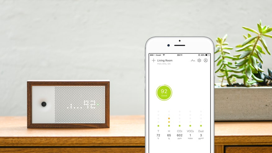 Every room in your house could be exposed to some form of an air pollutant, but now there is a new device and app that says it can help you breathe easier by tracking the air quality around you