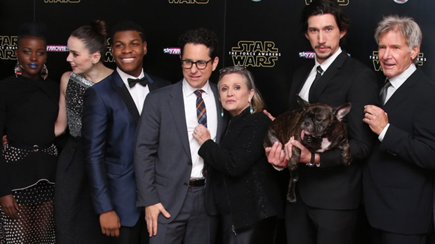 "Michael Tammero gives us a preview of the latest chapter of the ""Star Wars"" saga with stars Daisy Ridley, Harrison Ford, John Boyega, Oscar Isaac, Lupita Nyong'o, Adam Driver, and director J.J. Abrams."