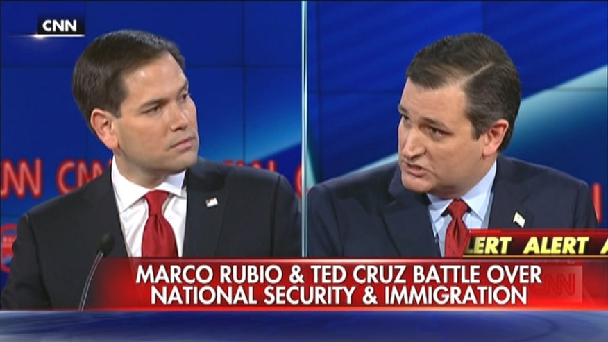 Marco Rubio doubles down on attack that Ted Cruz is weak on national security.