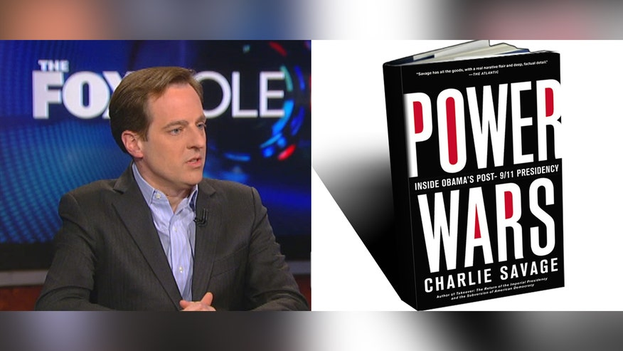 "Fox News Chief Washington Correspondent James Rosen talks to author Charlie Savage about his book, ""Power Wars: Inside Obama's post-9/11 Presidency."""