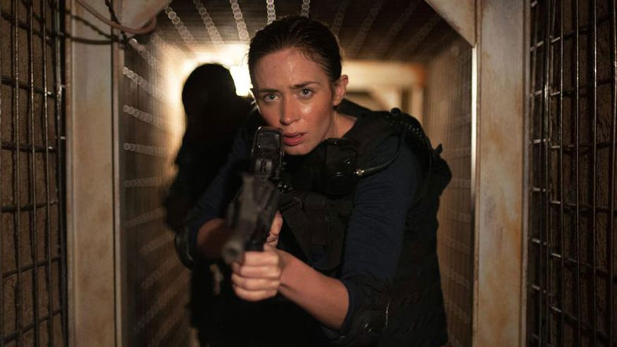 Gritty flick 'Sicario' now yours to own