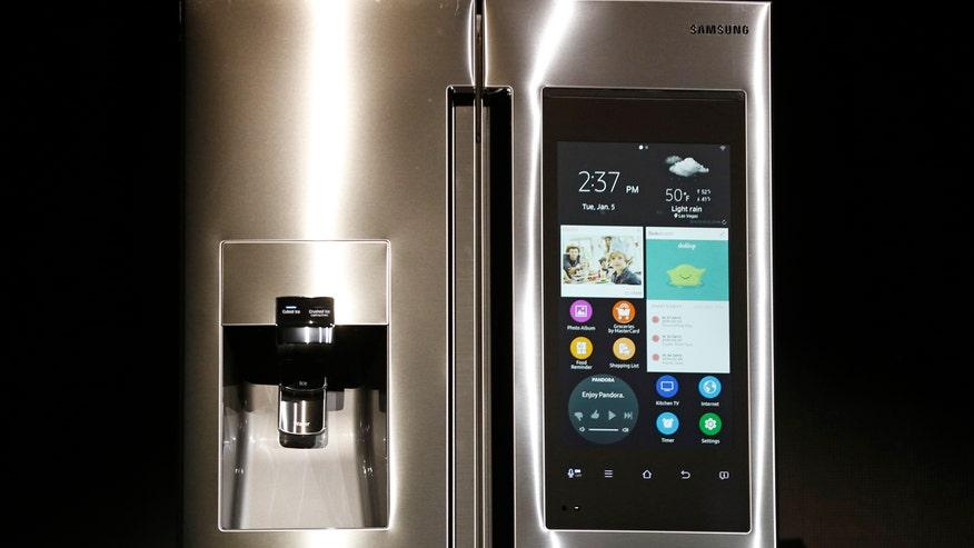 samsung tv refrigerator. samsung smart fridge tv refrigerator n