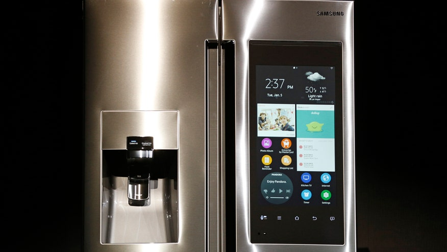 Samsung lets you peek into your fridge from your phone, connect all your media outlets with one remote and add that lone sock to the machine even after the wash has started