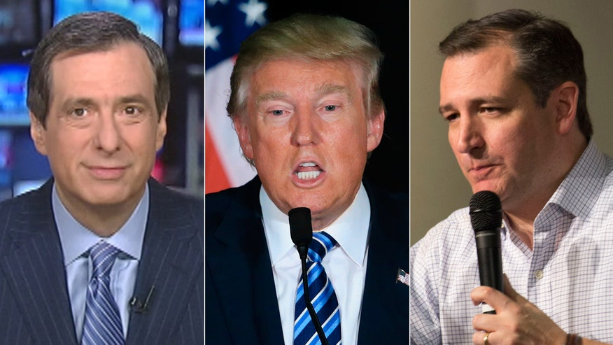 'Media Buzz' host reacts to ongoing feud between GOP rivals Ted Cruz and Donald Trump