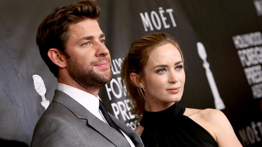 FOX411: Actor says wife Emily Blunt prefers him 'doughy'