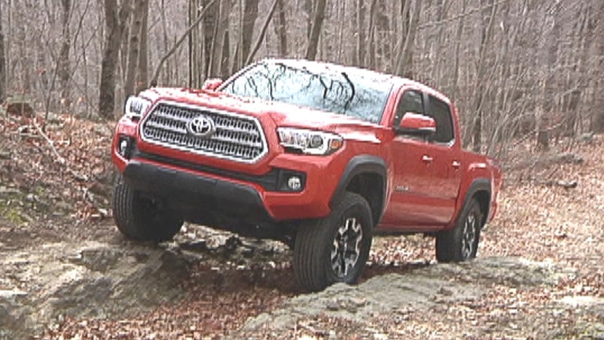 Gary Gastelu takes the new 2016 Toyota Tacoma TRD Off-Road 4x4 where it belongs.