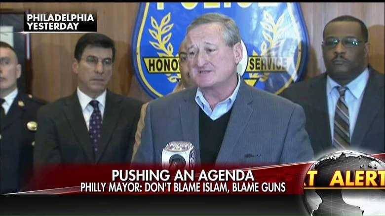 Mayor Kenney says don't blame Islam