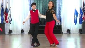 For Kayla and Trey Henley, dancing is a family affair