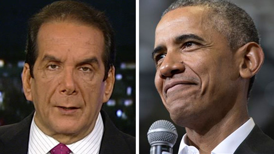 Krauthammer on President Obama's plan to close Guantanamo Bay prison: 'It's been rubbish from the beginning'