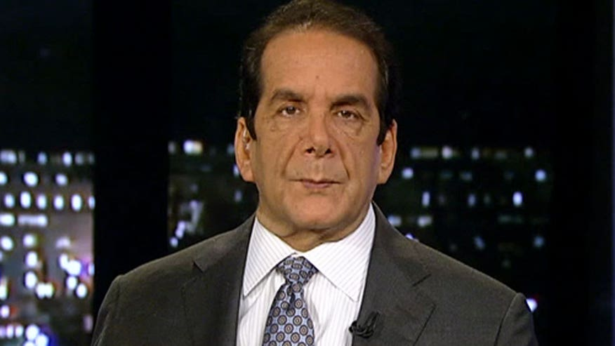 "Syndicated columnist Charles Krauthammer said Wednesday on ""Special Report with Bret Baier"" that Republican president frontrunner Donald Trump constantly contradicts himself -- with no fear of any potential consequences."