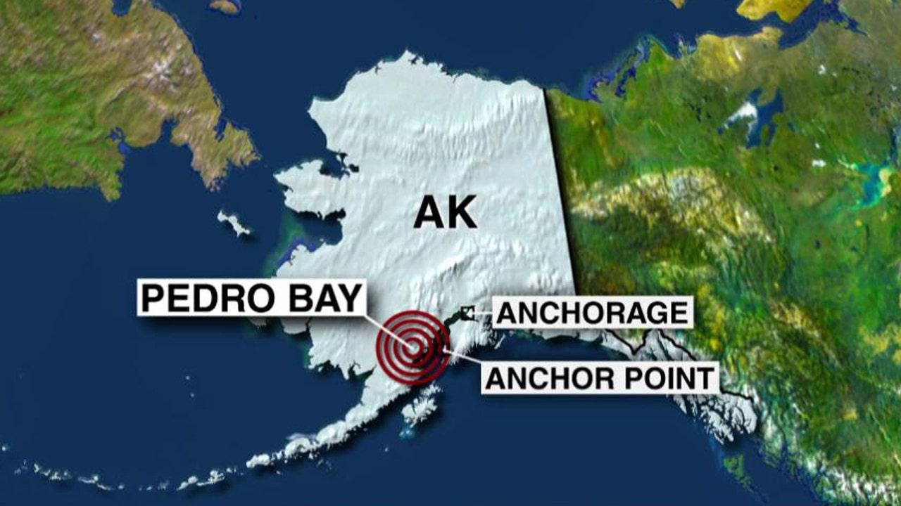 Magnitude-7.1 earthquake strikes Alaska