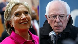 Hillary Clinton's lead in the Democratic primary race has narrowed to its slimmest margin yet.