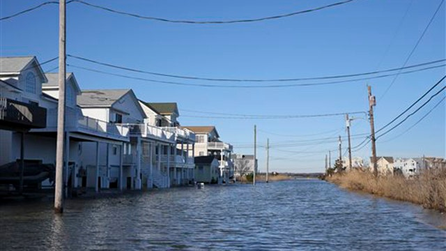 Jersey tides rise higher than during Hurricane Sandy